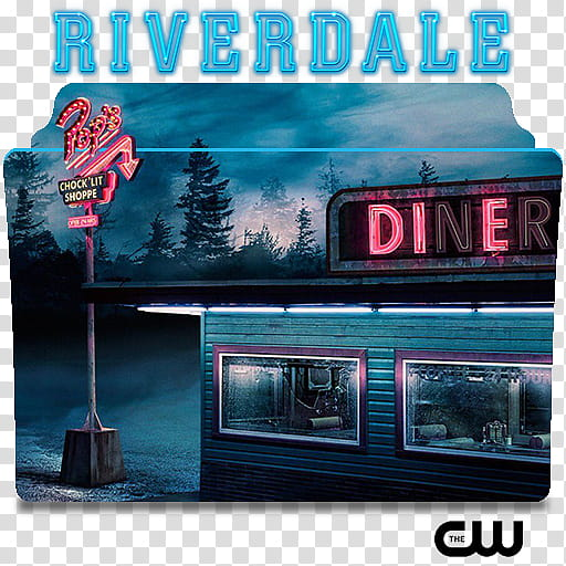 Riverdale series and season folder icons, Riverdale.