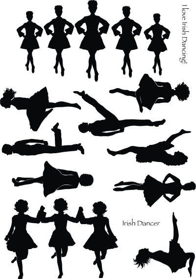 Go Back Gallery For Irish Dancer Silhouette Clip Art in 2019.