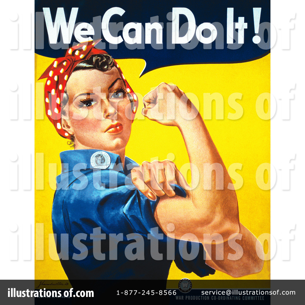 Rosie The Riveter Clipart #6506.