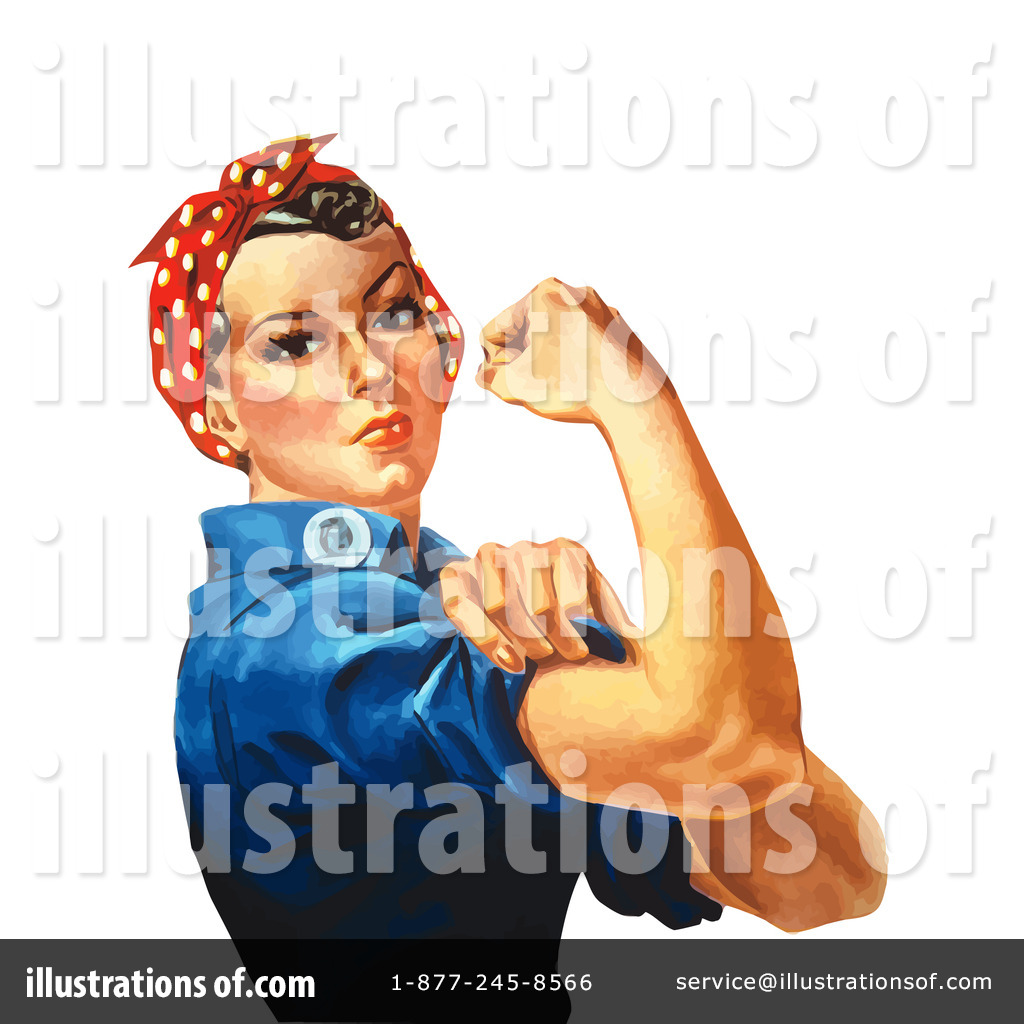 Rosie The Riveter Clipart #33724.