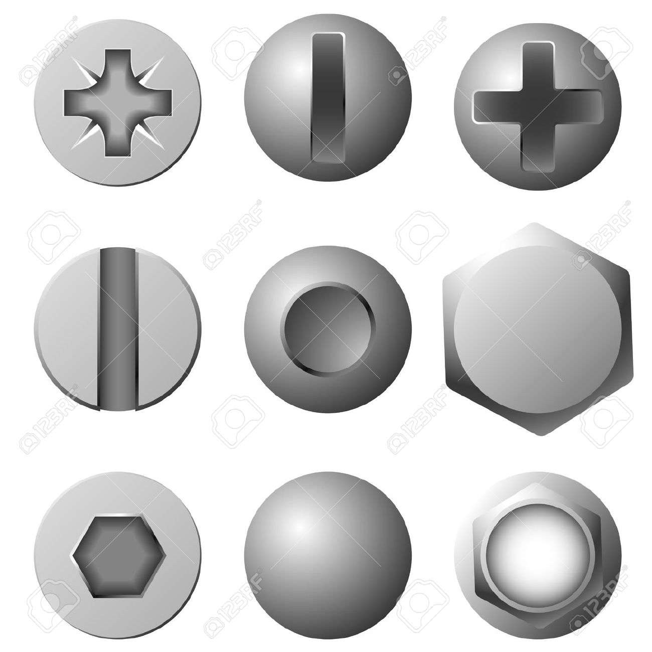 rivets clipart clipground