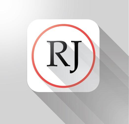 Creative RJ LOGO Design on Behance.