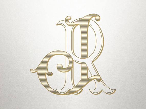 Wedding Initials Logo.