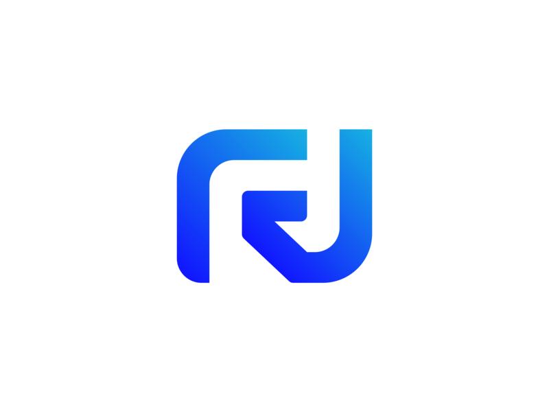 RJ logo design. by Felipe Branding on Dribbble.