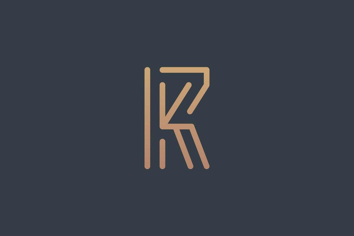 Initial RK Logo.
