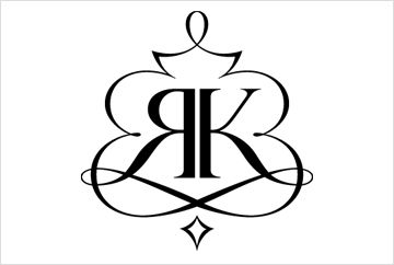 RK monogram.
