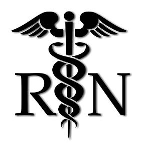 Registered Nurse Symbol Clipart.