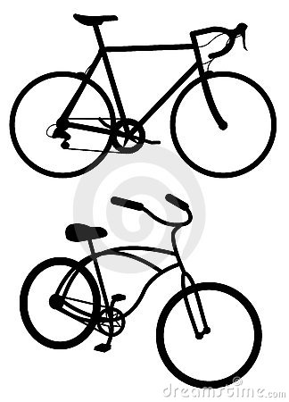 Road Bike Clipart.
