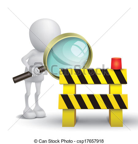 Safety roadblock Clipart and Stock Illustrations. 863 Safety.