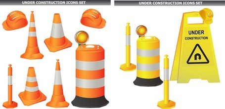 Roadblock Clip Art, Vector Roadblock.