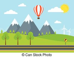 Winding country road Clipart and Stock Illustrations. 247 Winding.