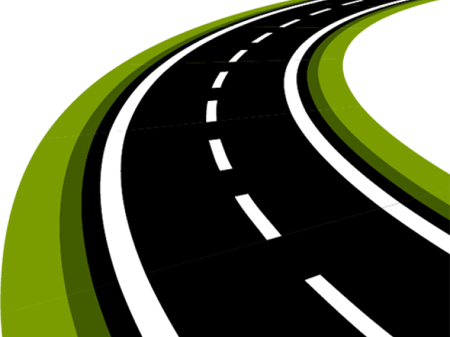 Roadway Clipart Road System.