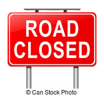 Road closed sign Illustrations and Stock Art. 3,305 Road closed.