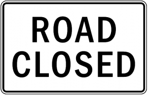 Road Closed Clip Art Download.
