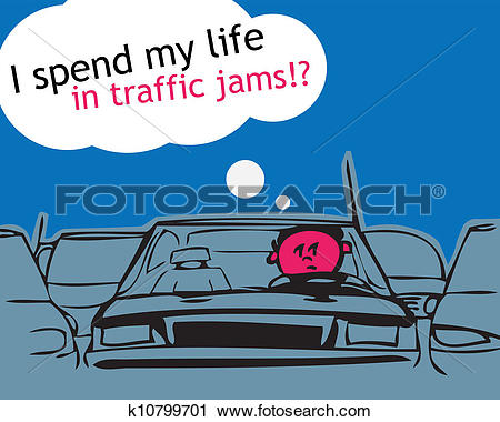 Traffic jam Clipart EPS Images. 507 traffic jam clip art vector.