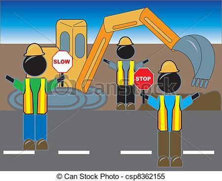 Road construction Clipart Vector Graphics. 12,540 Road.