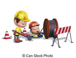 Road Construction Clipart.