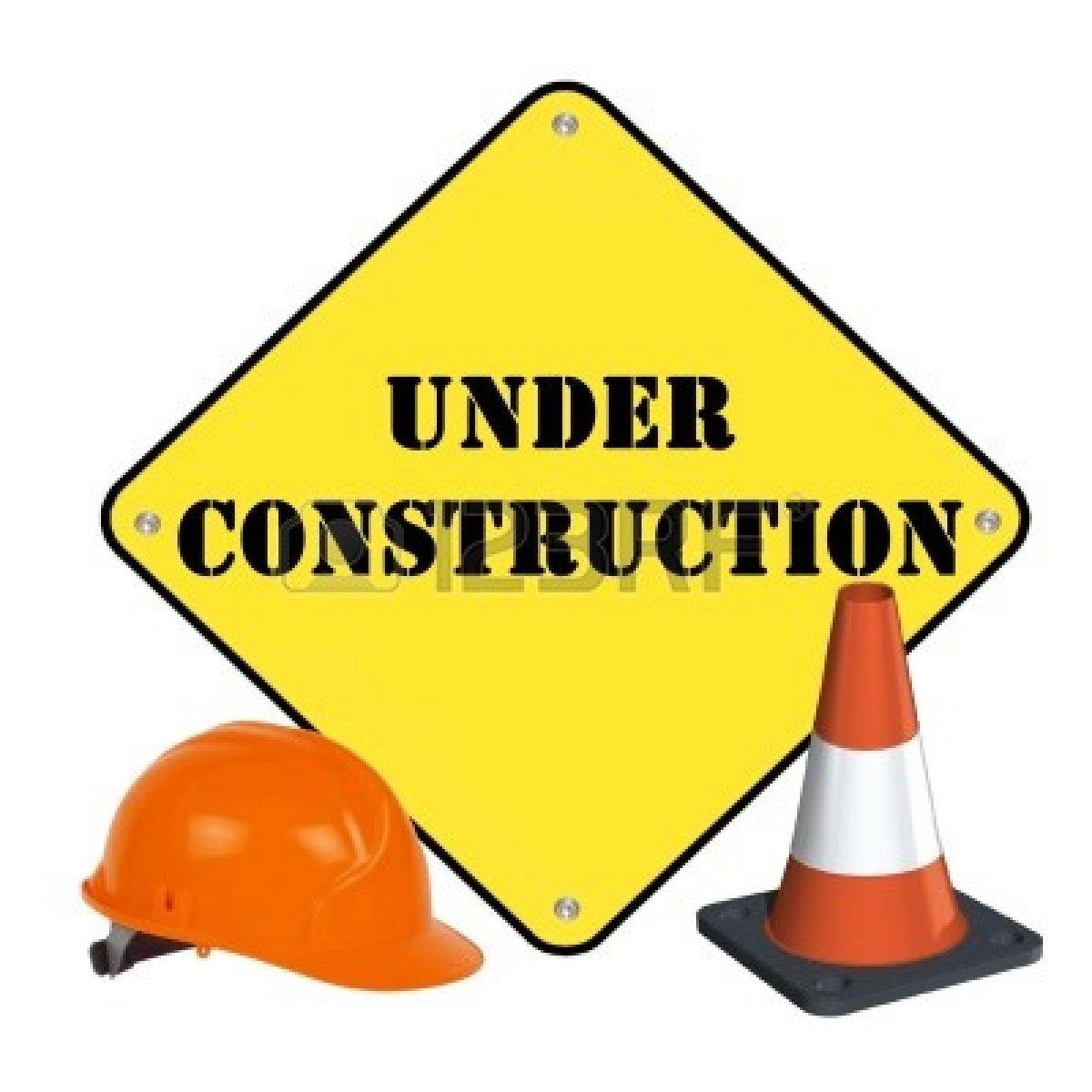 Construction Site Clipart.