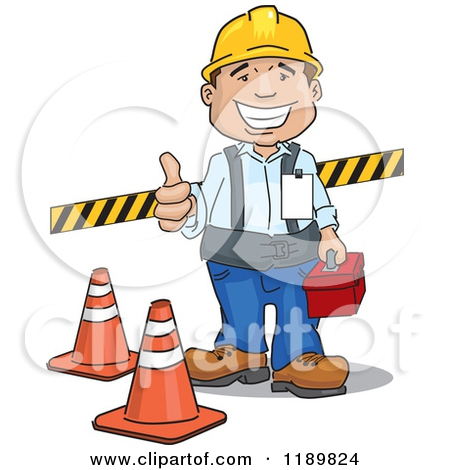 Happy Worker Clipart#2163310.