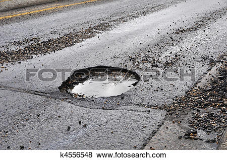 Pictures of Road Damage k4556548.