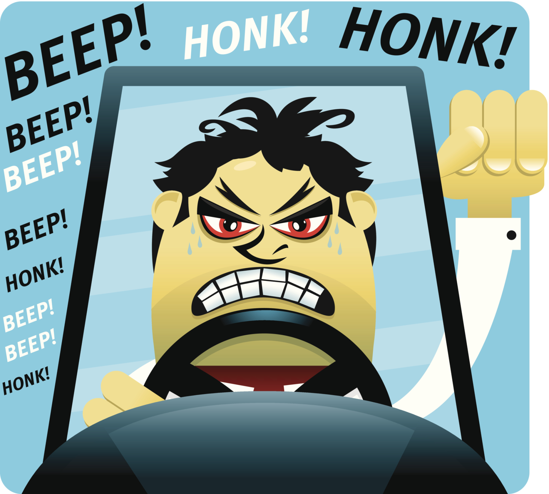 Aggressive Driving And Road Rage Accidents in Florida.