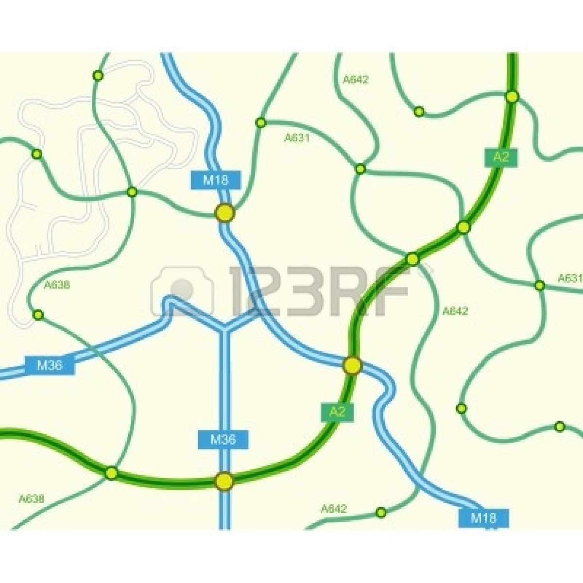 Road map clipart free » Clipart Station.