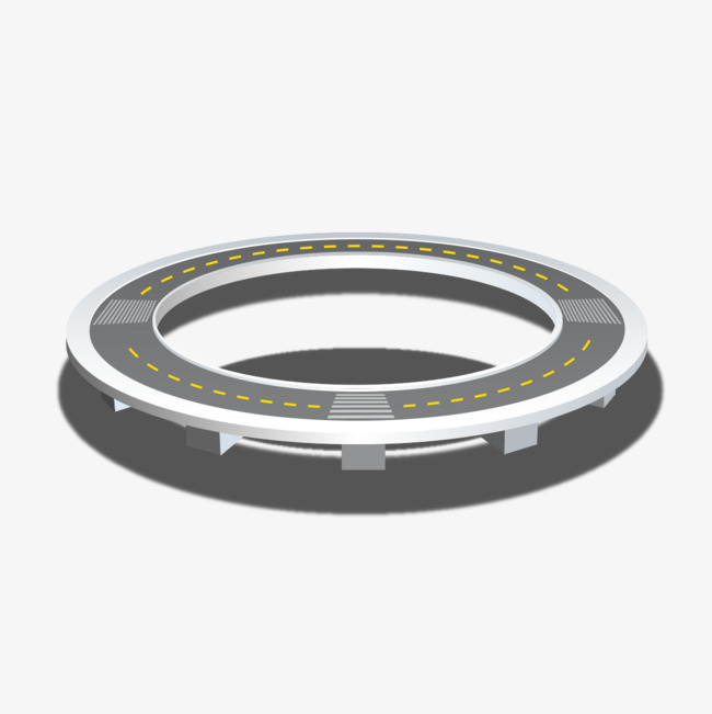 Download Free png Round Closed Loop Road, Road Clipart.