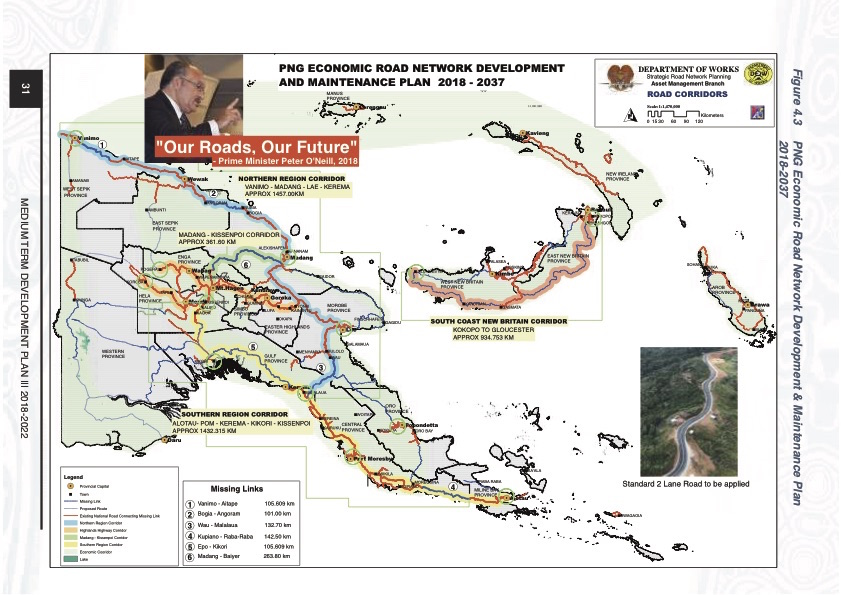 New roads for PNG: Path to progress or to environmental.