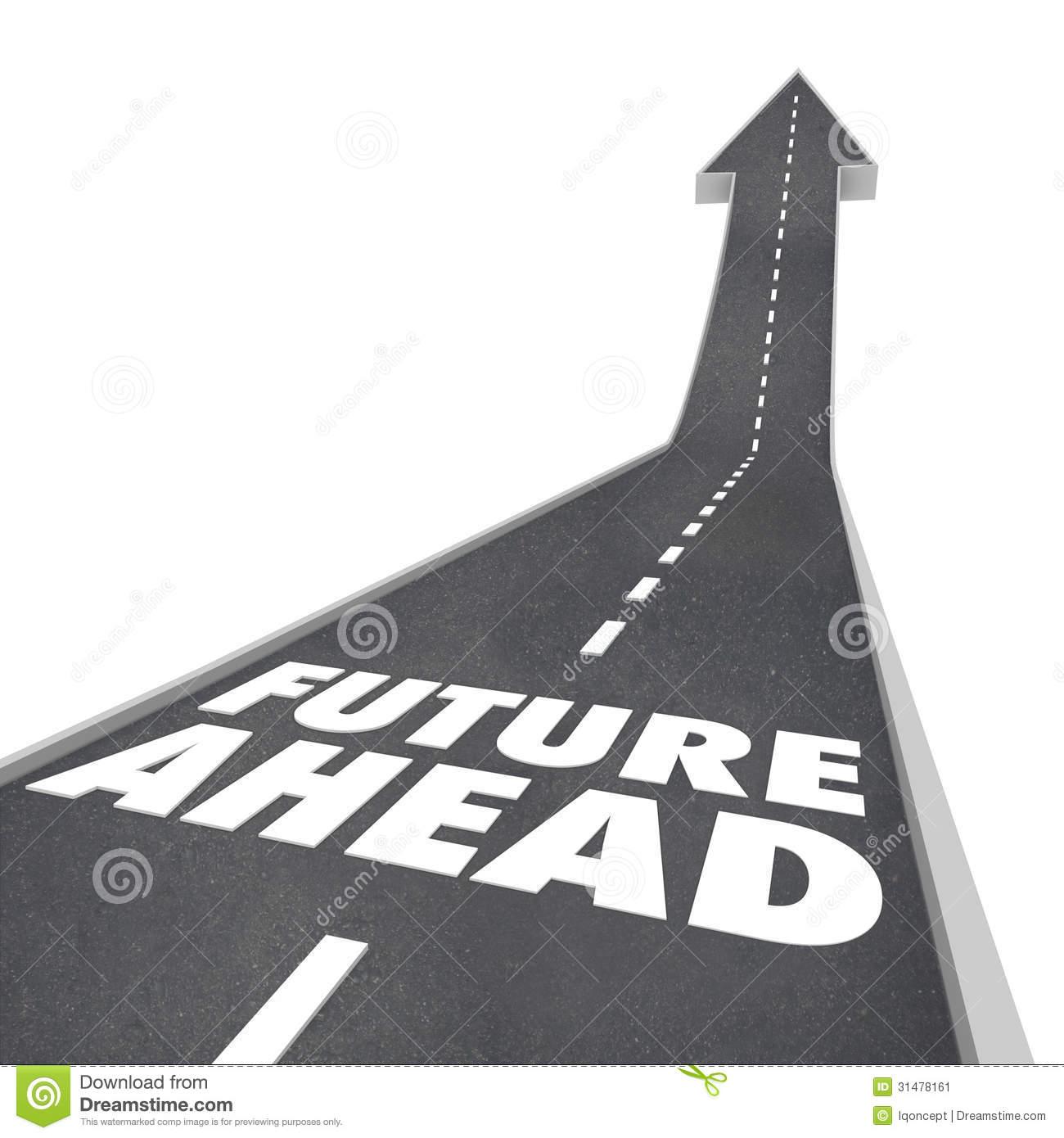 Road ahead clipart.