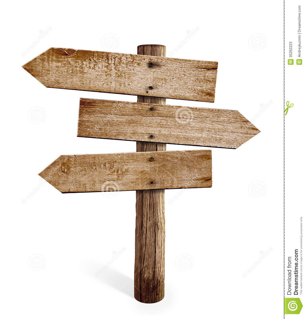 Road Sign Arrow Clipart Wooden Arrow Sign Post Or Road #EKi66u.