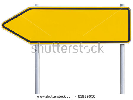 Road Sign Arrow Stock Images, Royalty.