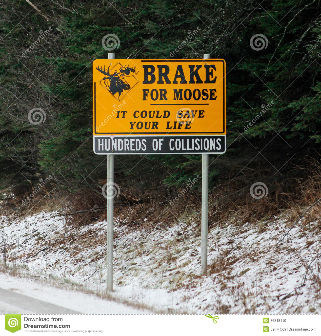 Road sign brake clipart.