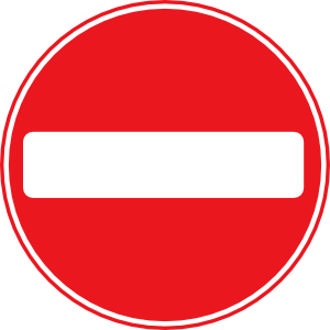Blank road sign clipart.