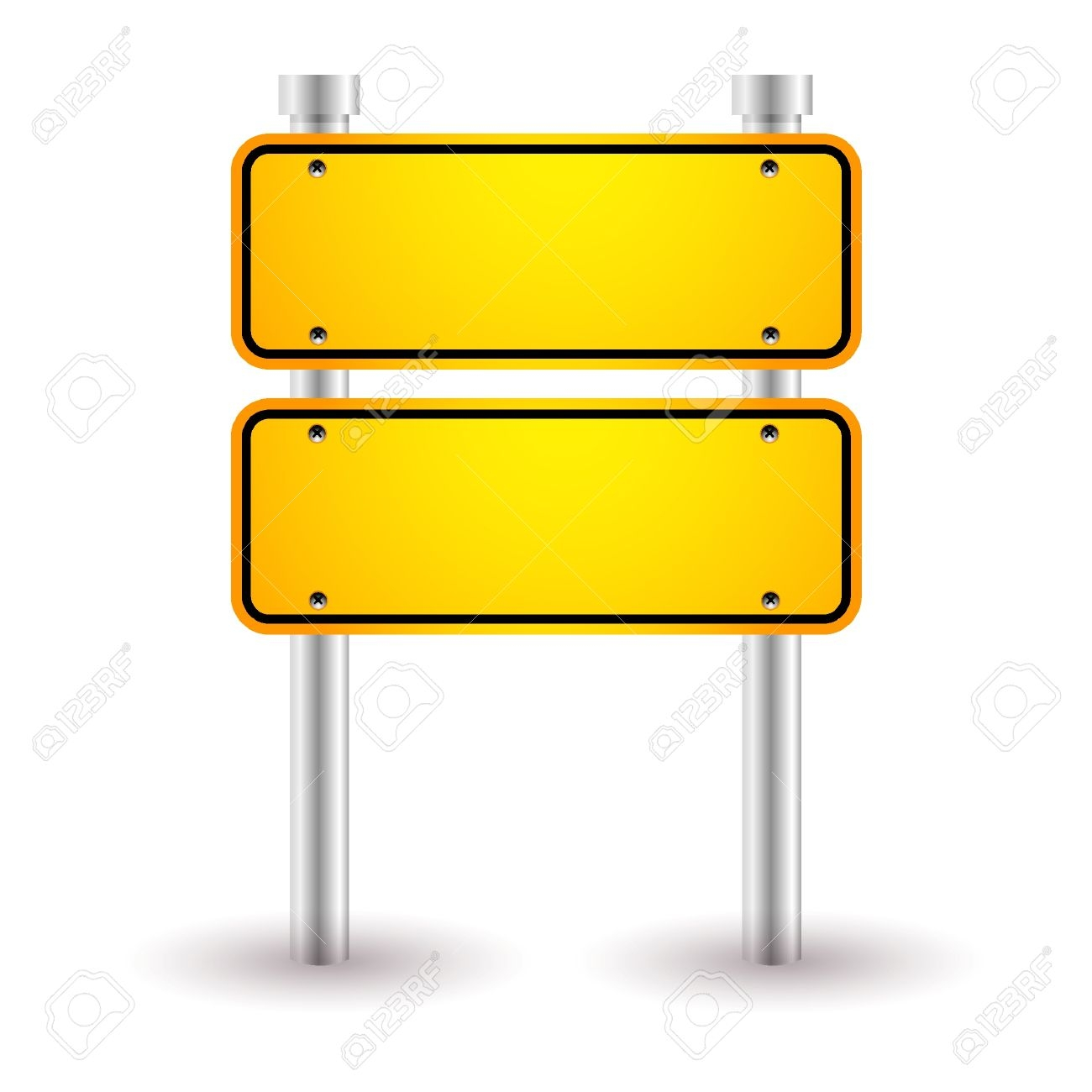 Road Sign Direction Clipart.