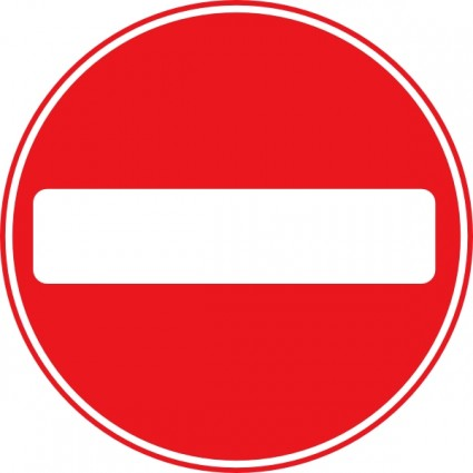 Highway Road Signs Clipart.