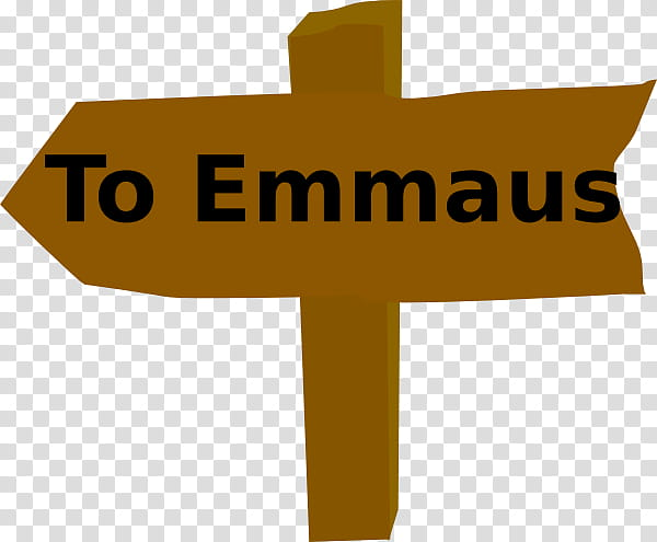 Road To Emmaus Appearance transparent background PNG.