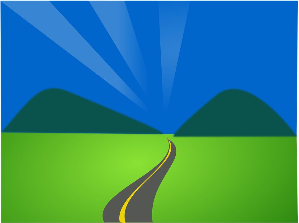 Free vector graphic: Landscape, Street, Road, Scenic.