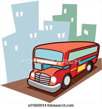 Road Transportation Clipart.