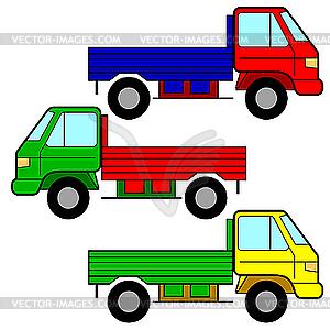 Road transport clipart.