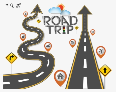 Free Road Trip Clip Art with No Background.