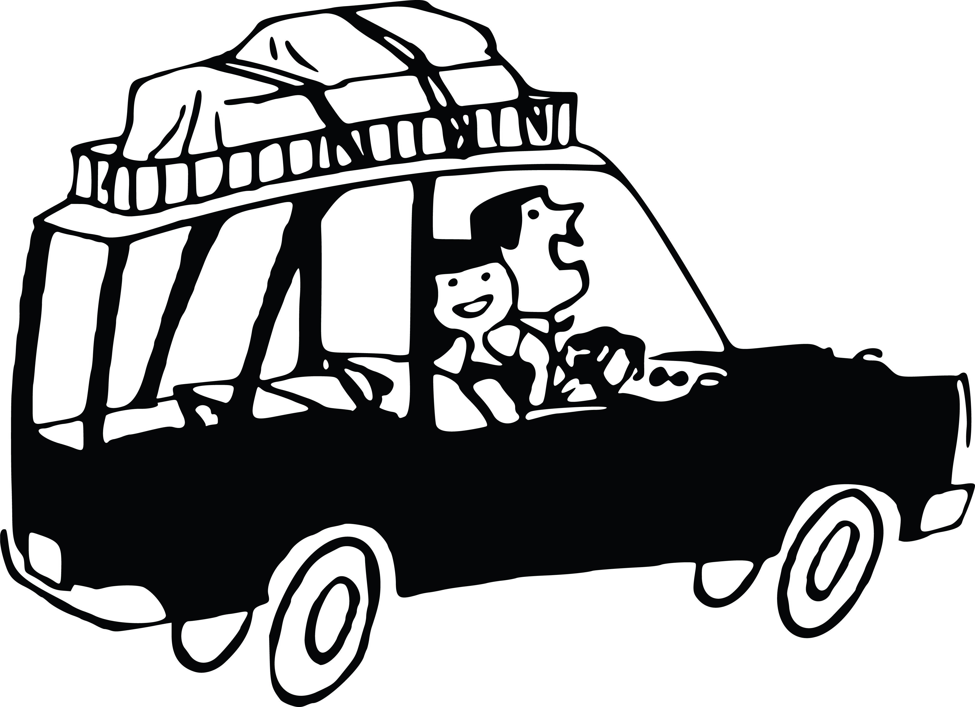 Free Clipart Of a couple on a road trip » Clipart Station.
