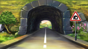 Clipart tunnel.