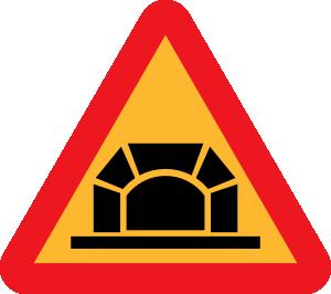 Tunnel Road Sign Clip Art at Clker.com.