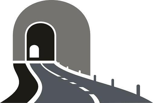 Car tunnel clipart.