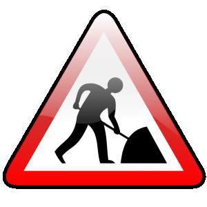 Road Works Clip Art Download.