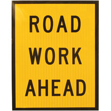 Road work signs clipart.
