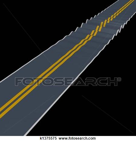 Rugged Roads Clipart.