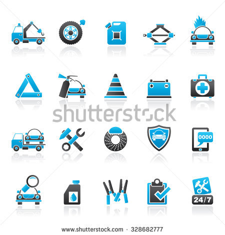 Roadside Assistance Stock Images, Royalty.