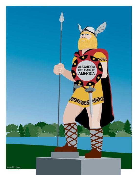 365 Projects: Big Ole Viking Statue Alexandria Minnesota.