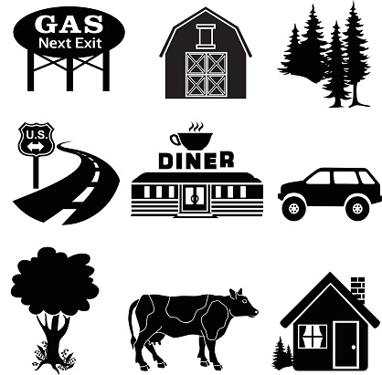 Roadside Attraction Clip Art, Vector Images & Illustrations.